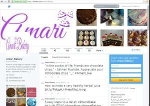 Amari Twitter Page