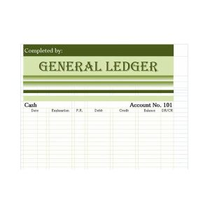 Daily Business journal sample (Also know as a General Ledger)