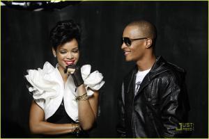 TI and Rihanna