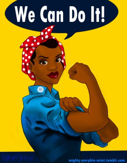 We can do it - black chic