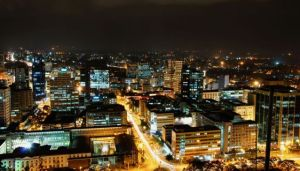 Nairobi - big part of Kenya's growing economy