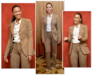 Even Beyonce knows how to rock a pant suit ^_^